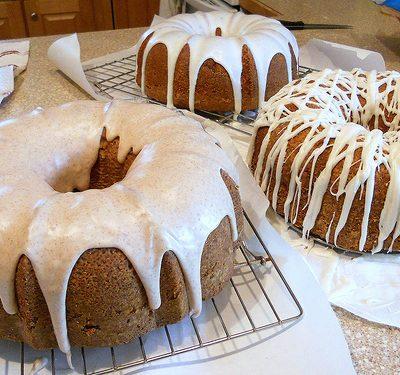 Basic Vanilla Pound Cake