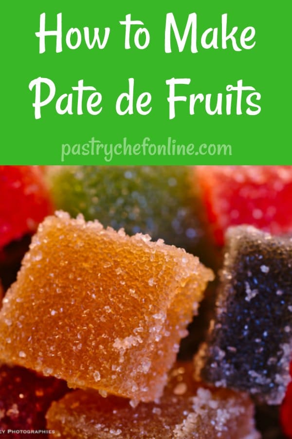 Raspberry Pate de Fruits
