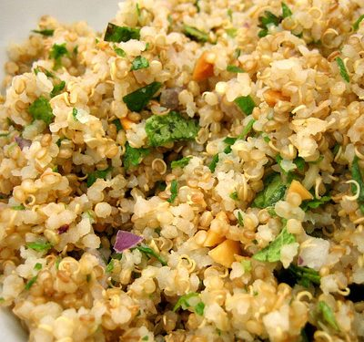 Sunday Suppers:  Citrus-Scented Quinoa with Tuna