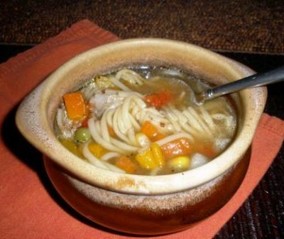 Sunday Suppers:  Chicken Noodle Soup