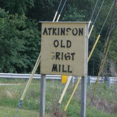 Living History:  Atkinson's Mill and The Cornbread Man
