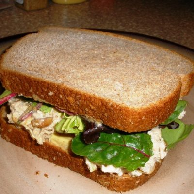 Sunday Suppers:  Quasi-Asian Chicken Salad
