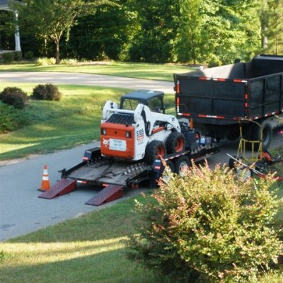 Tree Cutting and Peach-Berry Cobbler