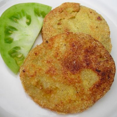 Sunday Suppers:  Fried Green Tomatoes