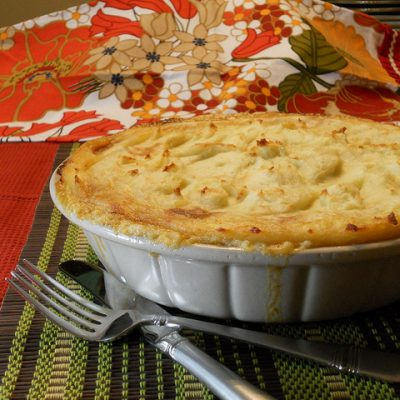 Sunday Suppers:  Especially Special Shepherd's Pie