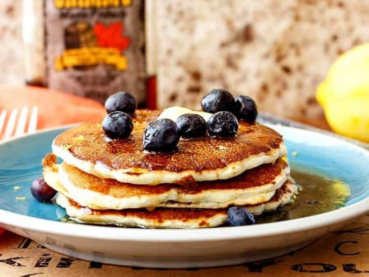 Pancakes for One (No Egg Recipe). Treat