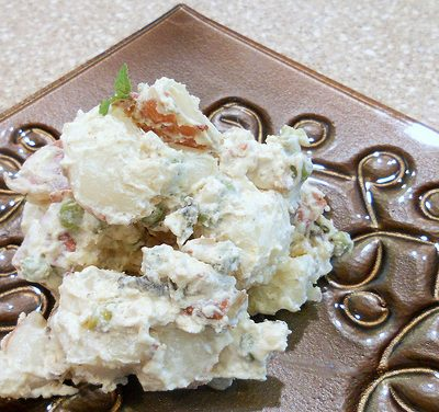 Sunday Sides (Tuesday Morning Edition): Curried Potato Salad