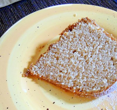 Cinnamon Orange Pound Cake–Pushing Back the Darkness with Pure, Simple Goodness