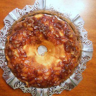 Pineapple Upside Down Pound Cake