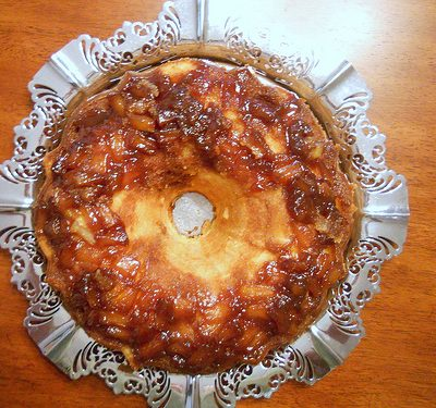 Delicious Pineapple Upside Down Pound Cake