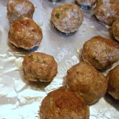 Sunday Suppers (Monday Edition): Lamby Meatball Goodness
