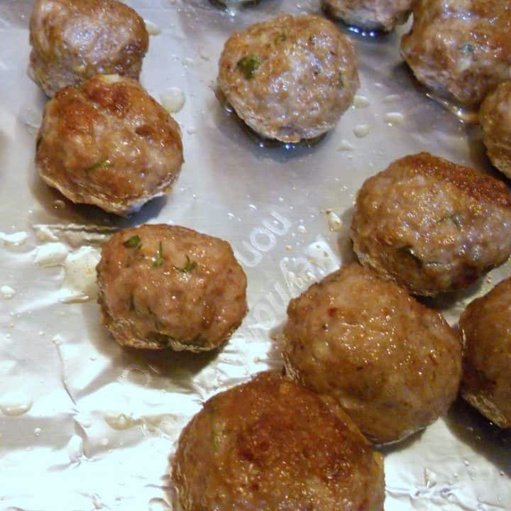 Lamby Meatball Goodness