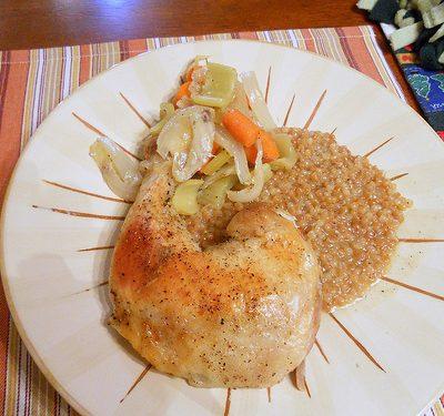 Sunday Suppers: Citrus-Fennel Pollen Roasted Chicken