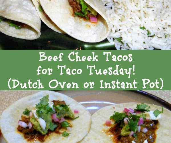 Beef Cheek Tacos with Cabbage