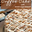brown butter blueberry buckle pin image