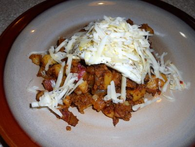 Sunday Suppers: Chorizo Hash and Eggs