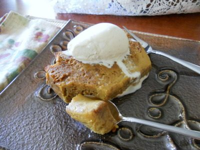 Molasses and Honey Bread Pudding: Snatching Victory–and Dessert–from the Jaws of Defeat
