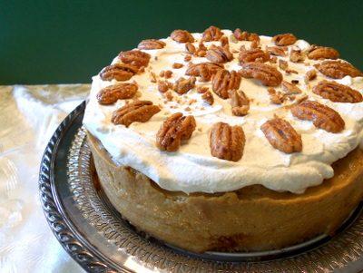 Food 52sday Recipe Interpretation: Caramel Spice Pound Cake with Caramel Custard