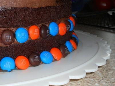 Dot Matrix Birthday Cake