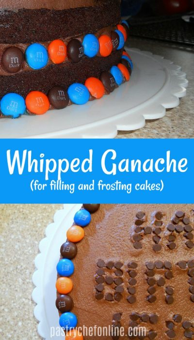 Chocolate Cake with Whipped Ganache Frosting