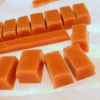 Old-Fashioned Chewy Butterscotch Candy