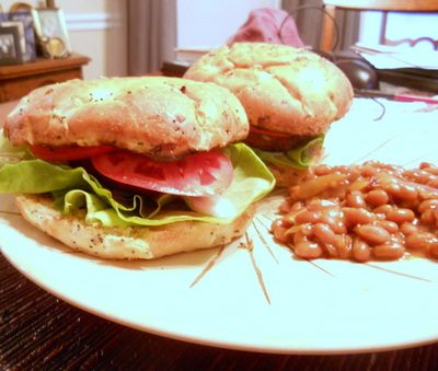 Sunday Suppers: Smoky Bacon Bison Burgers