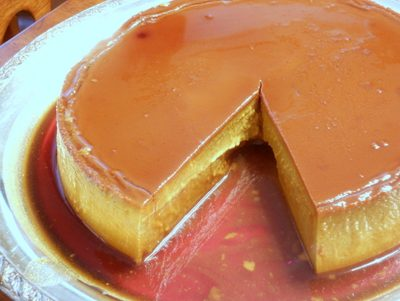 Pumpkin Caramel Latte Flan: The Most Interesting Flan in the World.