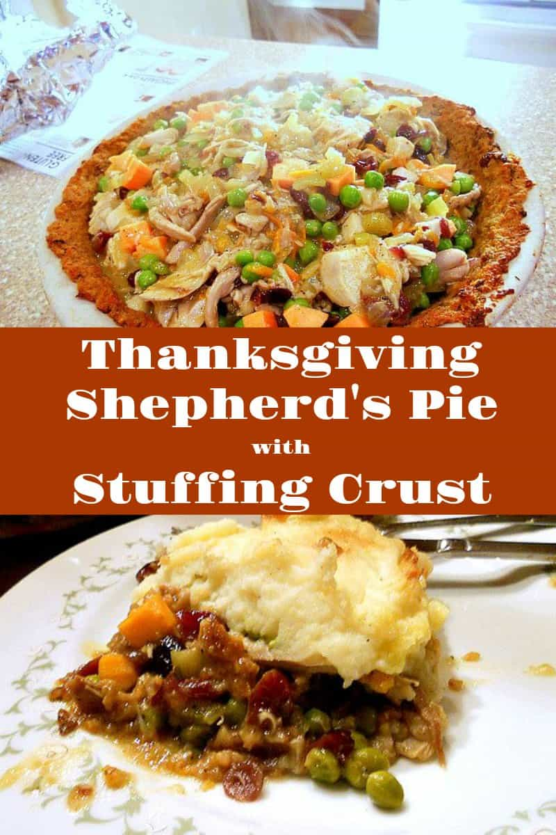 You can make this Thanksgiving Shepherd's Pie with leftovers for the day after Thanksgiving or make it to enjoy for a relaxed Thanksgiving dinner. Either way, it combines all the flavors you love in a Thanksgiving meal in one bite. Enjoy! | pastrychefonline.com
