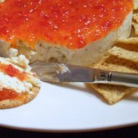 Savory Herbed Goat Cheese-Hot Pepper Cheesecake for the Holidays
