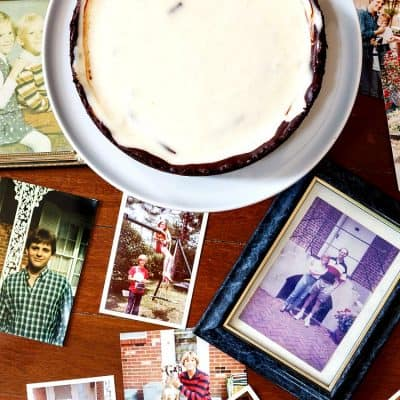 Remembering Greg with Chocolate Cheese Pie