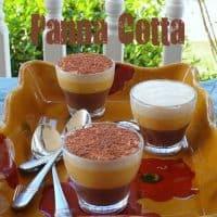 Chocolate Pumpkin de Leche Panna Cotta (Indian Corn Panna Cotta)