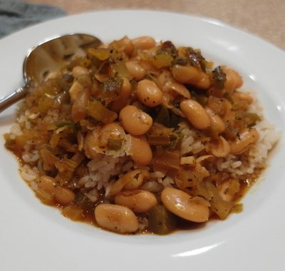 Creole White Beans from The Great Vegan Bean Book: The Beloved Cooks (and Writes) our Sunday Supper