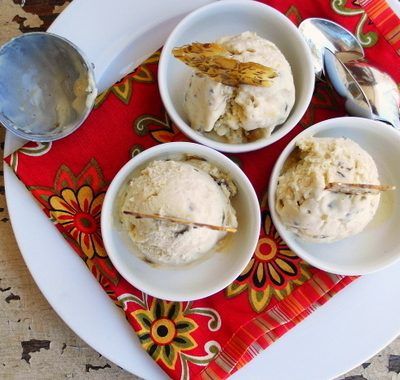 Fennel Pollen-Caraway Ice Cream