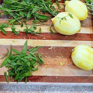 Lemon Tarragon Focaccia