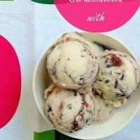 Buttermilk Mascarpone Stracciatella with Balsamic Strawberry Conserve