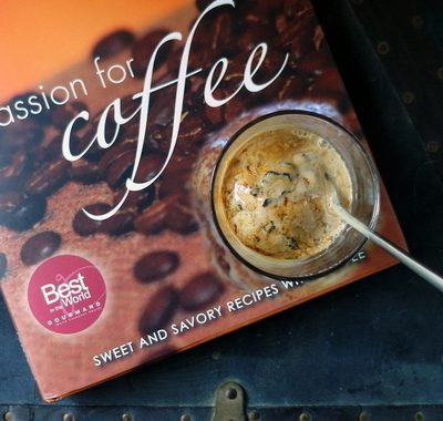 Passion for Coffee Cookbook Review | Cafe Bomba | Cookbook Giveaway