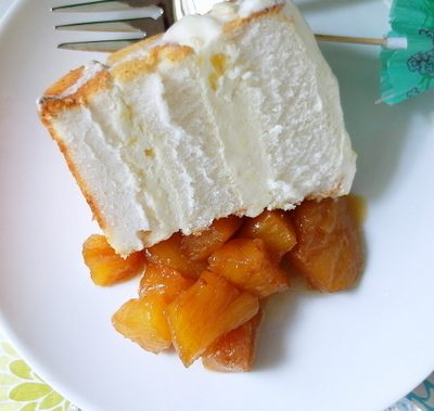 Pina Colada Ice Cream Cake with Boozy Caramelized Pineapple for #tbtfood