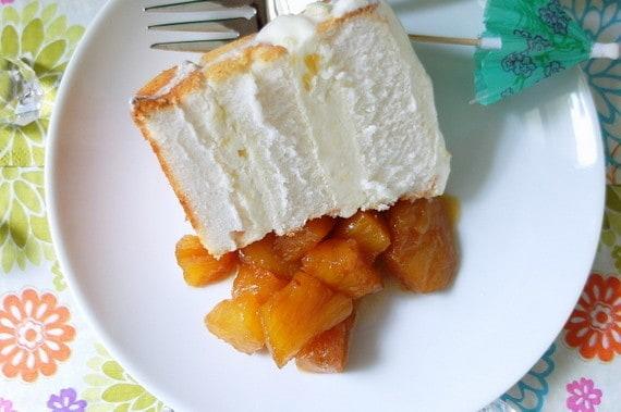 Pina Colada Ice Cream Cake