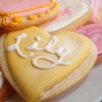 Decorated Shortbread Cookies