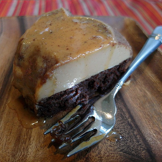 Mexican Spiced Chocoflan