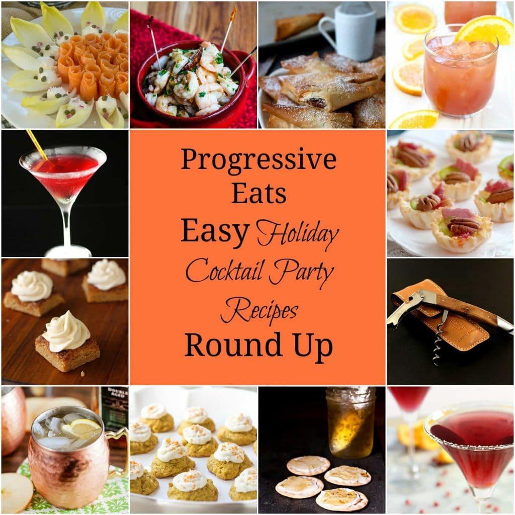 Progressive Eats Easy Holiday Cocktail Party Recipes