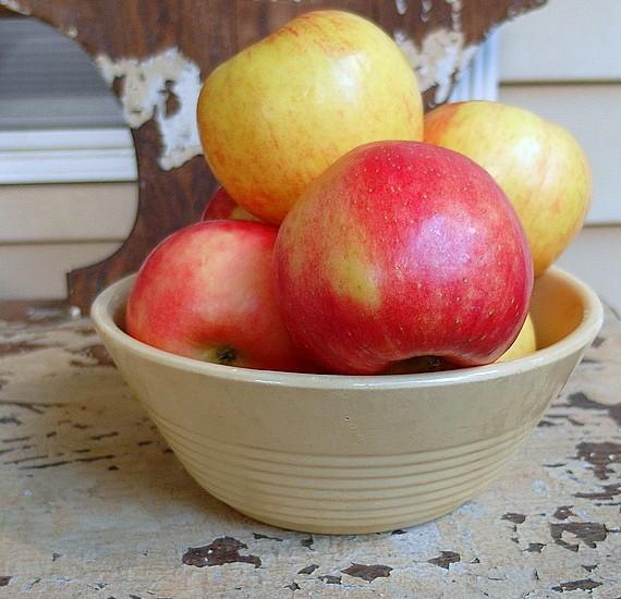 boozy apple crisp