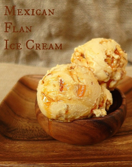 Mexican Flan Ice Cream
