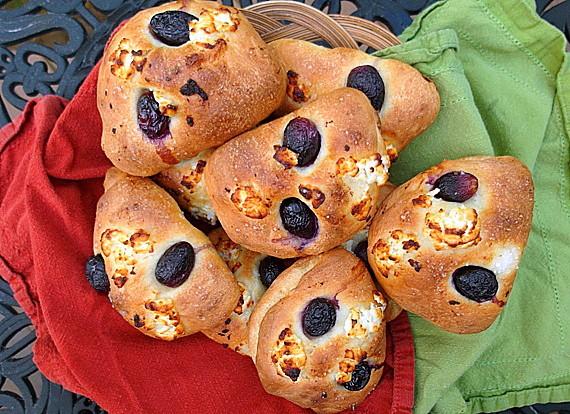 Savory Grape Bread