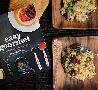 Pea and Bacon Risotto | Easy Gourmet Review and Giveaway