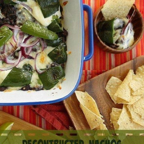 Deconstructed Nachos from Adventures in Comfort Food