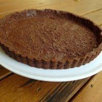 Chocolate Sable Tart Dough