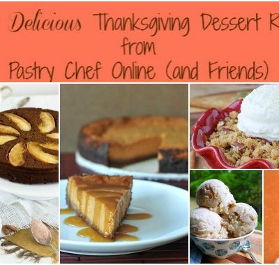 105 Delicious Thanksgiving Desserts Recipes Round Up