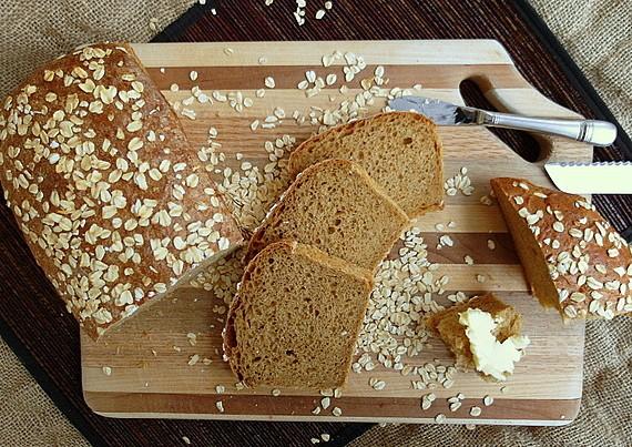 oatmeal beer bread 5
