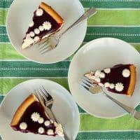 Orange Ricotta Mascarpone Cheesecake